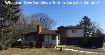 What can New Families afford in Ancaster