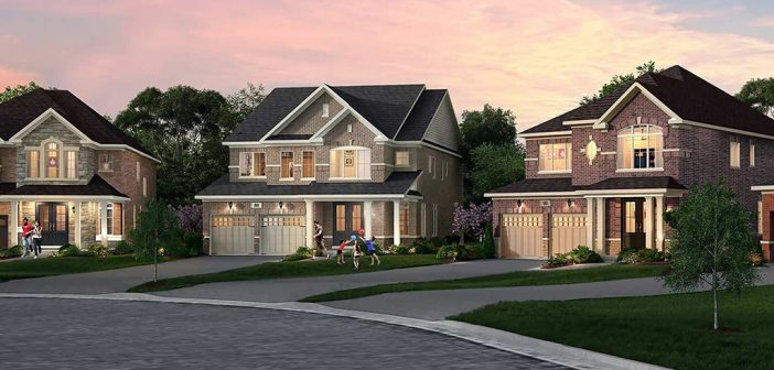 What can New Families afford in Caledon?
